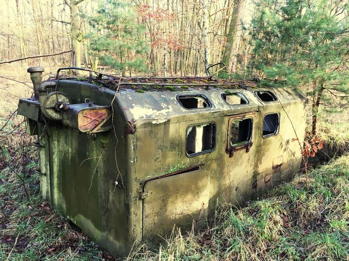 Lost Places Lost Places No People Day Old Abandoned Nature Obsolete Mode Of Transportation Outdoors