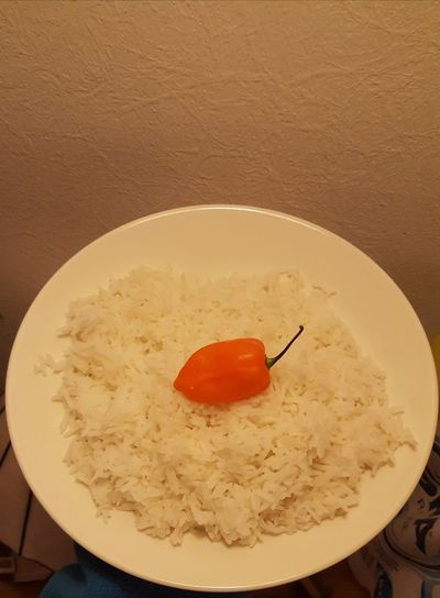 chilli rice Egg