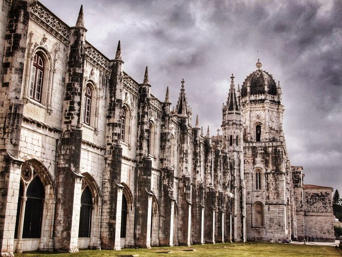 Portugal Architecture Travel Destinations Built Structure History Cloud - Sky Low Angle View Sky Building Exterior Day Outdoors