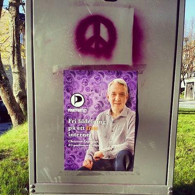 Hittade ett fint budskap för Christian också. Piratpartiethärnösand Piratpartiet ChristianEngström