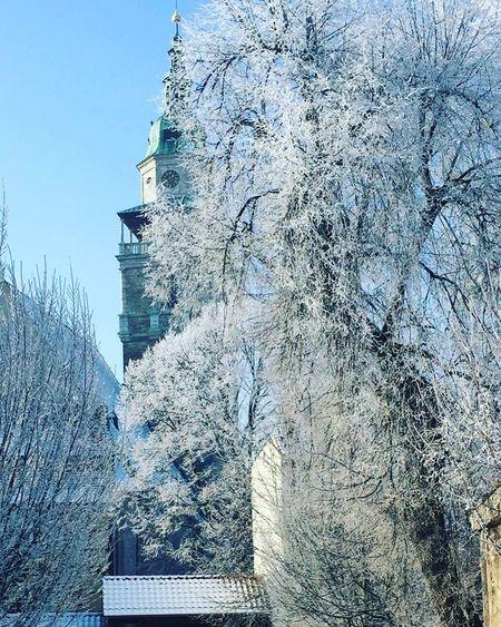 Winter Wonderland Architecture Impressive View Cold Church Religion Bad Langensalza The Great Outdoors - 2017 EyeEm Awards