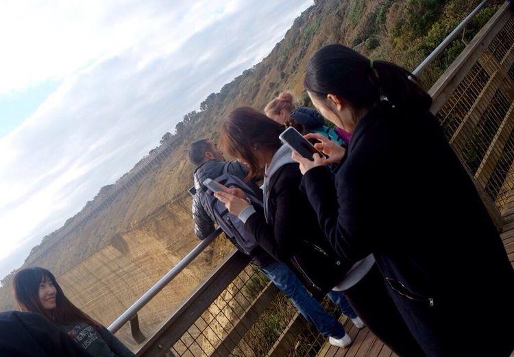 Look at me !! People Watching People Photography Girls Taking Photos Australia