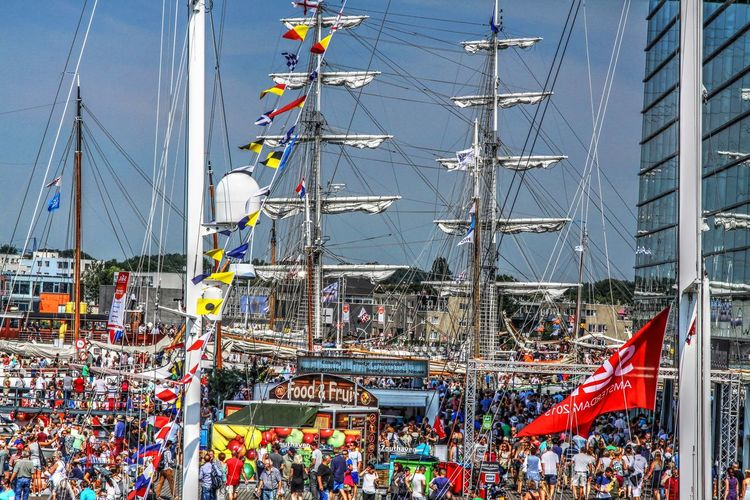 Sail Amsterdam 2016 Amsterdam HDR HDR Collection Holland Large Group Of People Outdoors Rob Handgraaf Fotografie Sail Sailing Ship