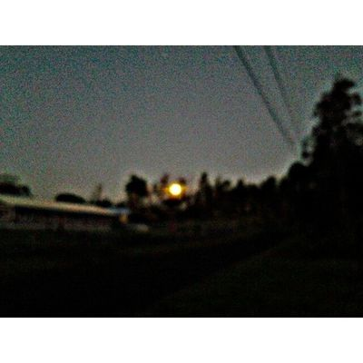 Good morning Moon Puna Myhome Lovemyhawaii HDR Beautifulxhi Bigislandlove