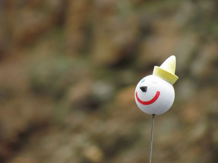 Antenna Topper Car Antenna Close-up Clown Face Focus On Foreground Jack In The Box  No People Selective Focus