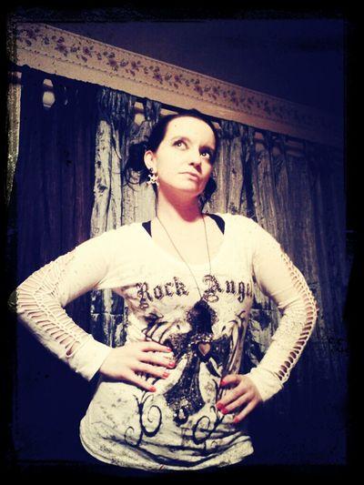 Gothic Black Dark Wings Rocker Darkart The Fallen RockAngel