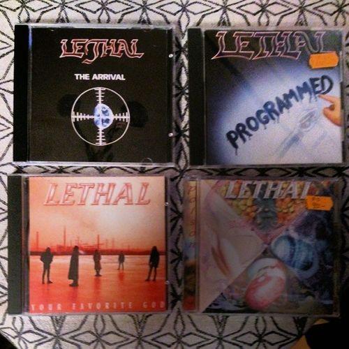 En ganska bortglömd amerikansk metalgrupp. Mycket bra! Records Recordlover Recordmania Lethal