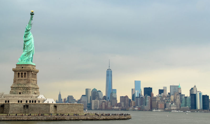 America City Famous Place International Landmark Liberty Liberty Island Mahattan New York New York City Skyscraper Statue Statue Of Liberty Tourism Travel Destinations U.S