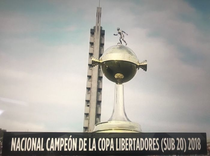 Nacional campeón copa libertadores sub 20 2018 Soccer Trophy Sky Cloud - Sky No People Day Built Structure Outdoors Architecture Stories From The City