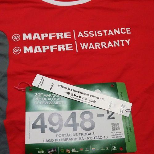 Tudo pronto para a maratona de amanhã movimento Praserfeliz . 22maratonaderevezamentopaodeaçucar Pãodeaçucar