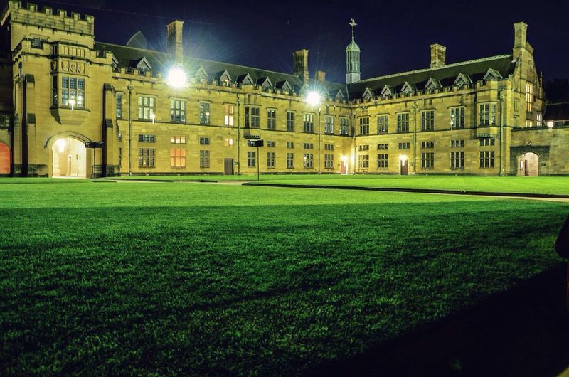 The Quadrangle | Winter 2015 Usyd  Thequadrangle Sydney Photography Long Exposure Architecture