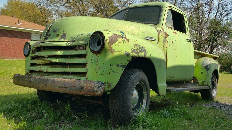 Old Truck Enjoying Life Art On Wheels Restoration In Progress Taking Photos