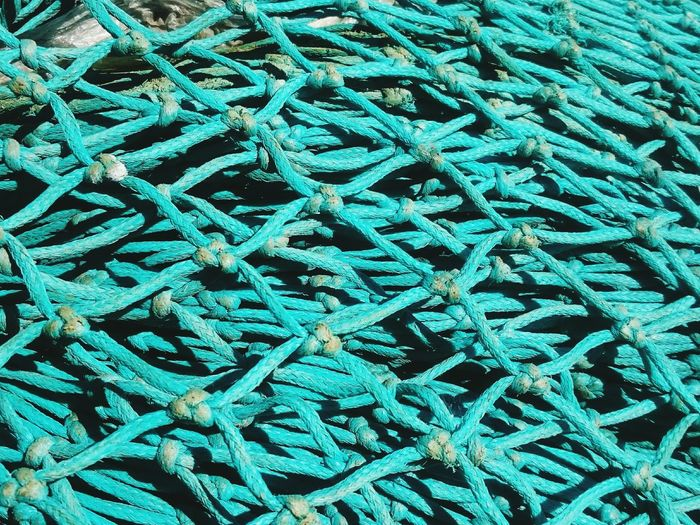 Backgrounds Pattern Textured  No People Full Frame Backgrounds Close-up Blue Design Intricacy Extreme Close-up No People Fishing Nets Harbor Fish Quay