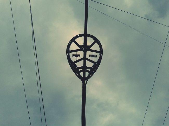 COLLECTION : OCCIPITAL / YEAR : 2014 / PLACE : PASEOS DE CHURUBUSCO / TITLE : WESTLER CABLE STRANGE ASPECTS Sky Weirdography Westler