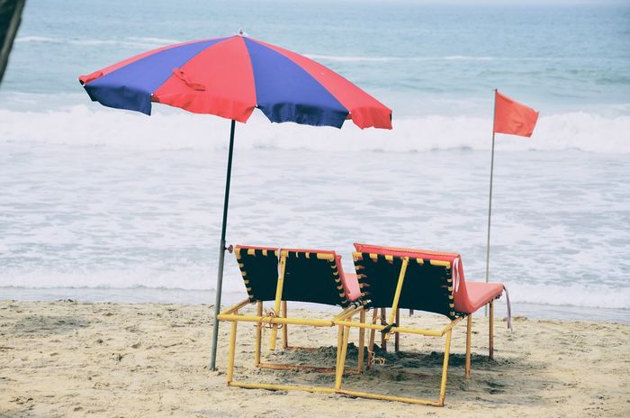 Beach Relaxing Sand Sea Side Life Sun And Sea Umbrella Vacation Vacations