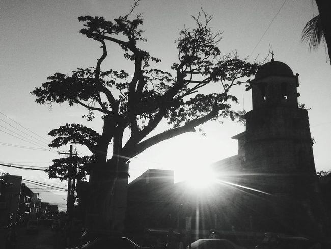 Bell tower⛪ Dumsville Belltower Sunset Silhuoette