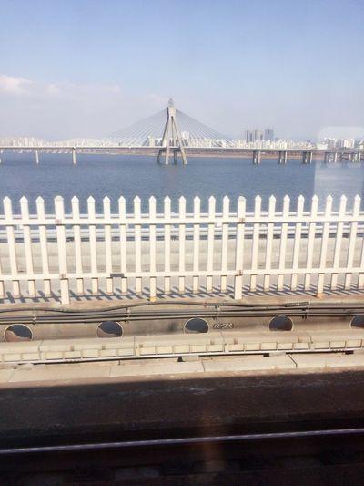 Seoul Korea subway Han river