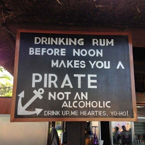 A PIRATE'S LIFE Blackboard  Outdoors Text Building Exterior No People Day Only In Florida Ugh Hot Christmas Christmastime Most Wonderful Time Of The Year  Key West He Loves Me  Loving Life  Pirate Yo Ho Ho Rum