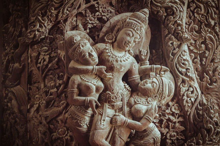 Wood carving Art And Craft Representation Sculpture Creativity Religion Architecture And Art Thailand Wood Carving Art