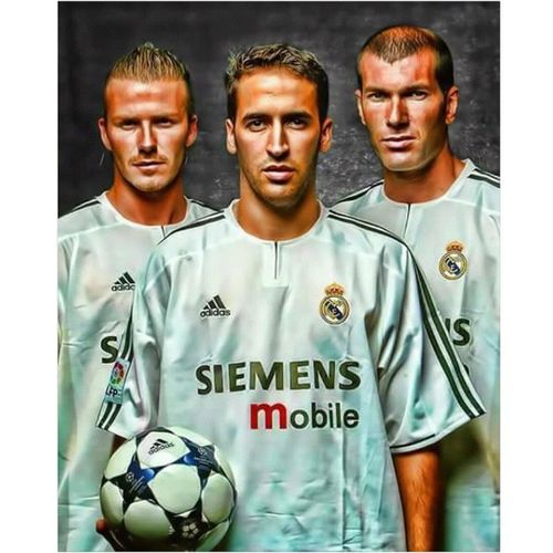 Real Madrid 2003 Beckham. Raul. Zidane. Mysportbible