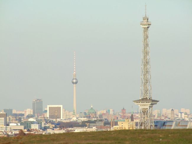City Travel Destinations Tower Travel Urban Skyline Skyscraper Architecture Outdoors No People Cityscape Sky Day Antenna - Aerial Berlin Tourist Attraction  Built Structure Fernsehturm City Funkturm
