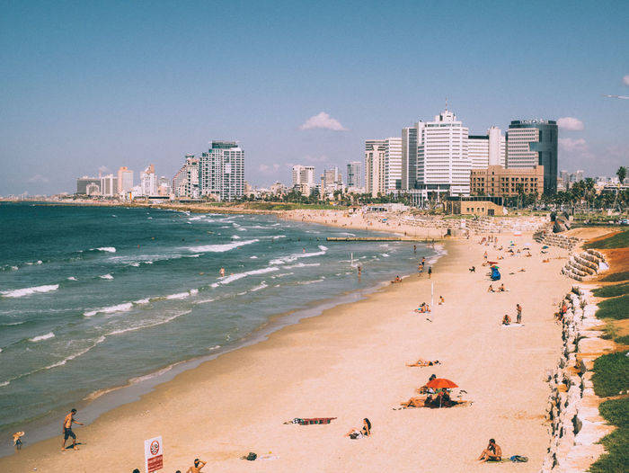 Dat beach... Beach View Life Is A Beach Telaviv Cruise People Ocean Discover Your City EyeEm Bestsellers Market Bestsellers April 2016 Bestsellers
