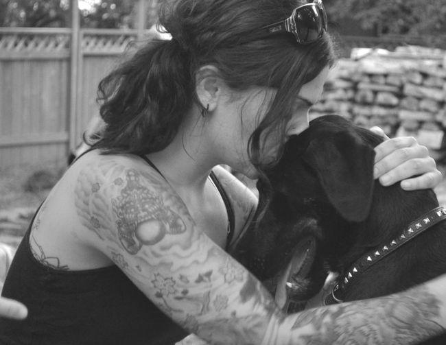 Meli and Jerry Brokenpromisesrescue Rescueismyfavoritebreed Rescuedog Blackandwhite