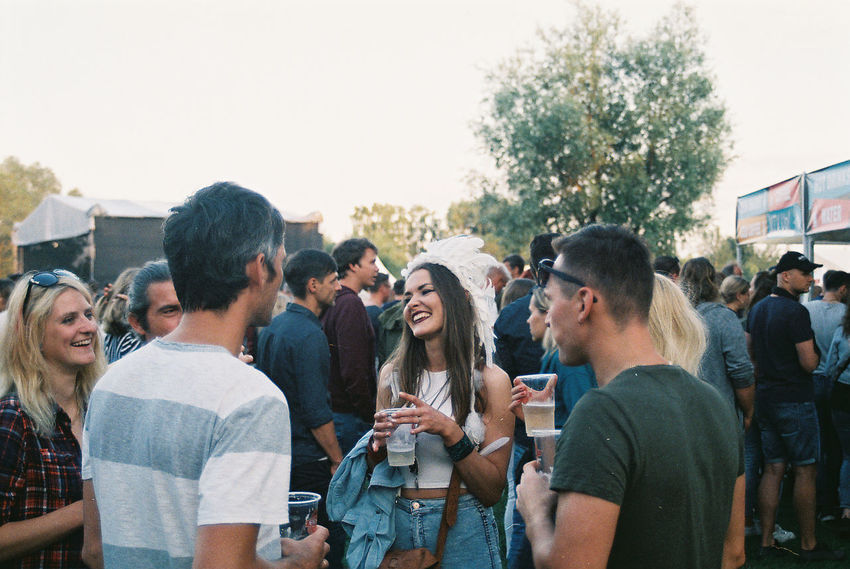 RHCP Film Grass Nikon Red Hot Chili Peppers Concert Day Festival People Portrait