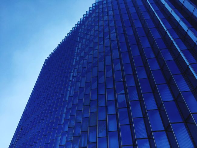 Lines Modern Built Structure Low Angle View Building Exterior City