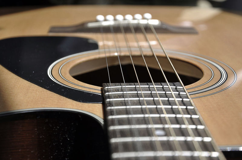 Acoustic Guitar Arts Culture And Entertainment Close-up Guitar Guitar Hole Indoors  Music Musical Equipment Musical Instrument Musical Instrument String No People Selective Focus Single Object Still Life String String Instrument Strings Strings Of Music Wood - Material