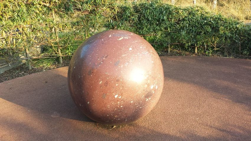 Decorative Sphere in the Garden