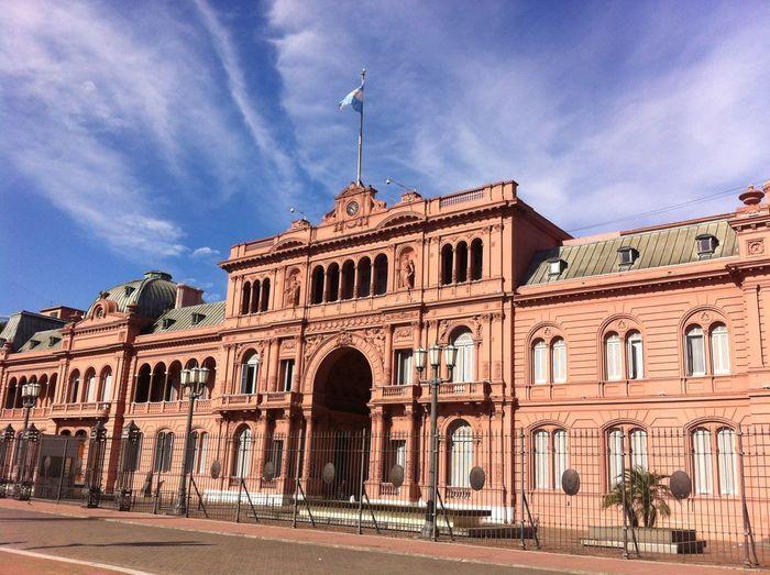 Buenos Aires Casa Rosada Pink