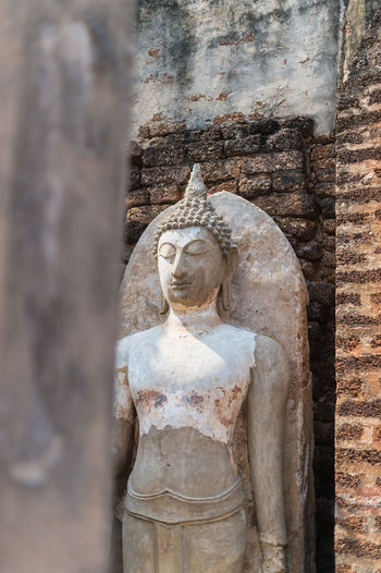 Religion Spirituality Sculpture Belief Human Representation History Statue Place Of Worship Male Likeness Art And Craft Representation Ancient Architecture The Past Travel Destinations No People Old Ruin Built Structure Ancient Civilization Stone Material Outdoors Idol