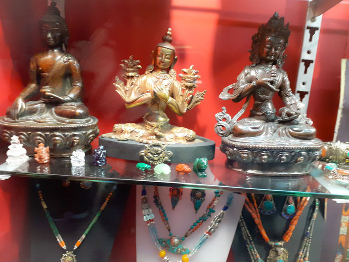 Statues in store for sale