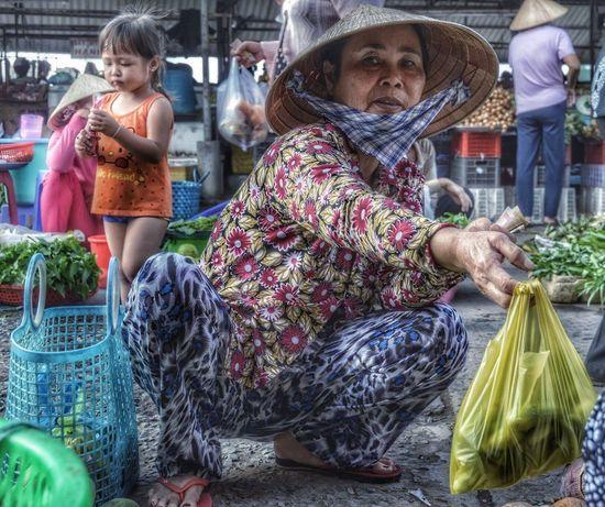 Market Women Real People Vegetable Food People Freshness Only Women Vietnam Vietnamese Vietnamese Food Vietnamfoodstreet