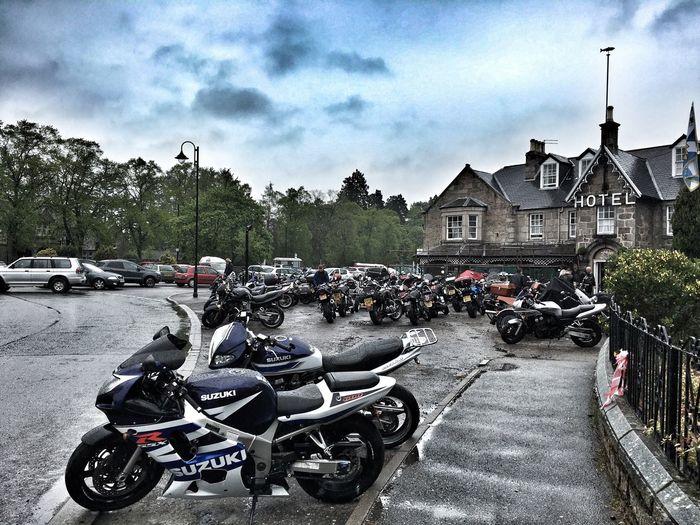 Motorcycles Bikes British Legion Scotland Colours
