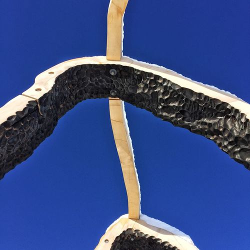 Blue Low Angle View Clear Sky Sky No People Nature Outdoors Landscape Close-up Idaho Idahoexplored Idahome Architecture ArtWork Art Installation Craters Of The Moon Ketchum, Idaho Spur