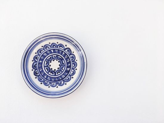 White Background No People Close-up Day Plate Plato Ceramica Ceramics Pottery Pottery Art Andalucía Homesweethome