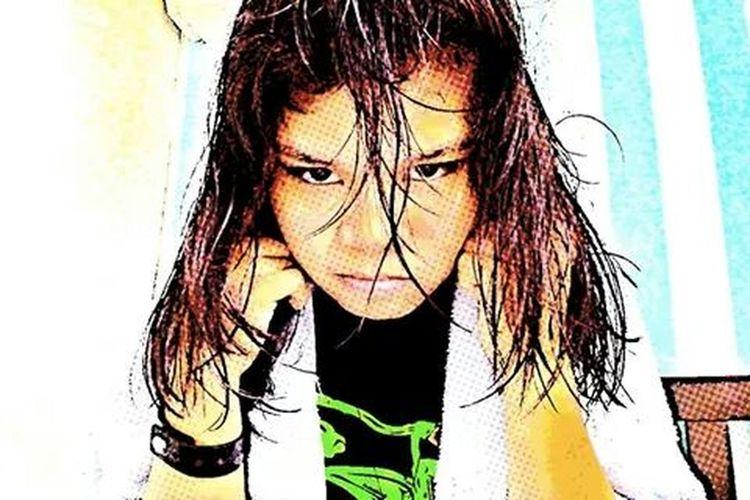 This is me!! Looking Crazy :P making fun of myself. :3 Eyeem Me :) Crazy Me Comics Filter Eyes