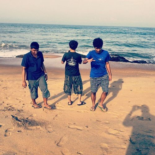 @Chilaw beach trying a panorama shot
