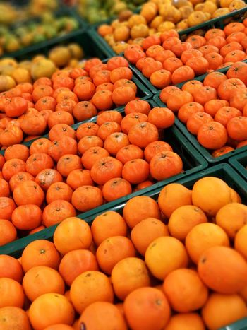 orange fruit in market Abundance Choice Close-up Day Food Food And Drink For Sale Freshness Fruit Healthy Eating Large Group Of Objects Market Market Stall No People Orange Color Orange Fruit Outdoors Retail