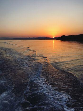 Ise Japan Sea Sunset