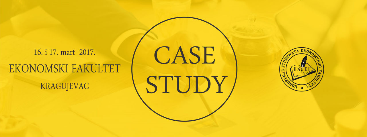 Case Study 2017 Business Case Study Making Money Savings Text Yellow