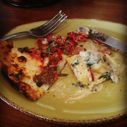the ravioli's surprisingly good Saturdate Zanata Rockwall