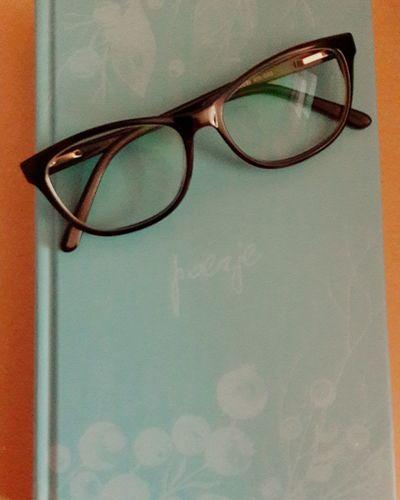 """""""Poetry"""" Konstanty Gałczyński Book Poetry In Pictures Gałczyński Konstanty Eyeglasses  Sunglasses Eyesight Eyewear No People Reading Glasses Day Indoors"""