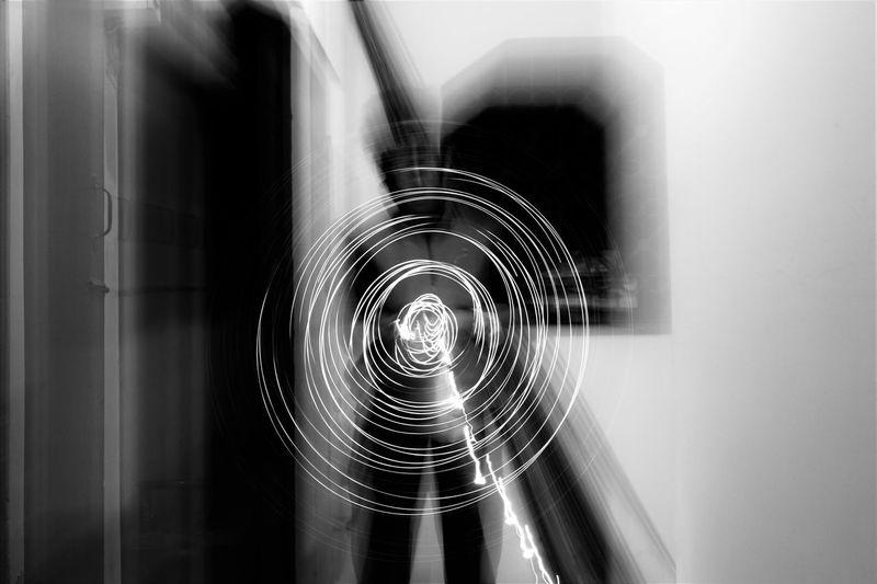 Looong exposure... Creative Shots Creativephotography Creative World Creative Power Creative Photography Longexposureoftheday Longexposureshots Light Trail Photography Black & White Blackandwhite Photography Monochrome Photography Illuminated Fairylights Lightspinning Creative Blur Motion Blur