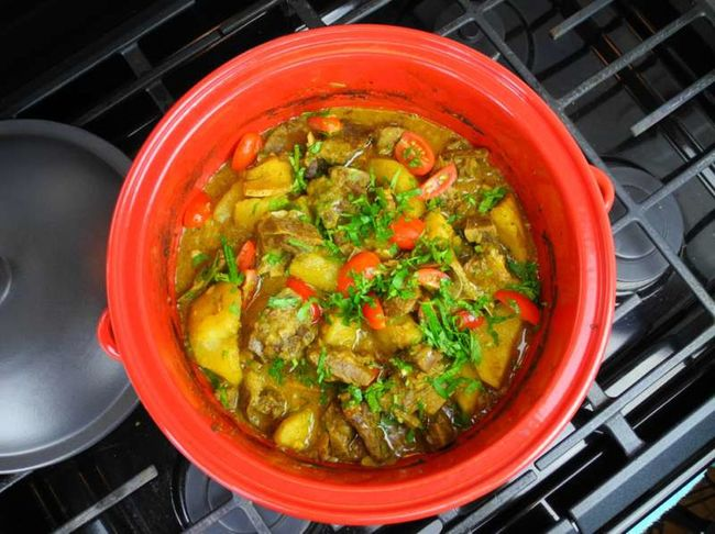 Goat curry! Exotic Foods Delicious Hhhmmm Caribbean Food