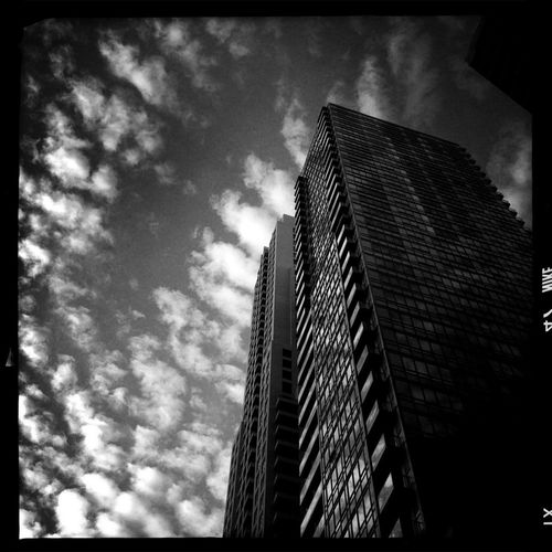 Clouds And Sky Skyscrapers Spring Skies
