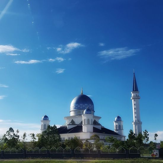 Blue mosque and