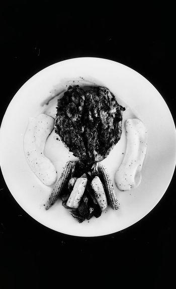 amateur platting skills! Cooking Chicken Steak Valentine's Day